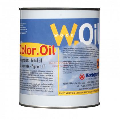 Color Oil BLACK 10 цветов Масло-воск для деревянных полов 1 кг