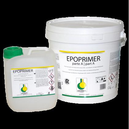 LECHNER EPOPRIMER двухкомпонентный эпоксидный праймер без содержания воды и растворителей.