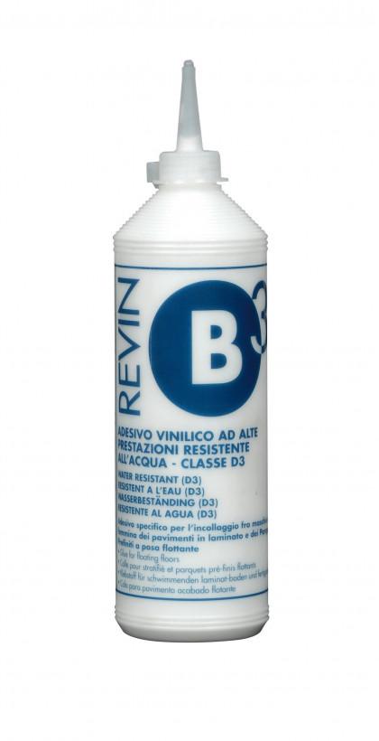REVIN B3 Однокомпонентный виниловый клей класса D3 0,5 кг