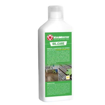 OIL.CARE Средство по уходу за деревянными напольными покрытиями, обработанными маслом, в доме и на улице 1 кг