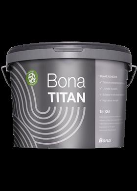 Bona TITAN полиуретановый пластичный клей для универсального применения.