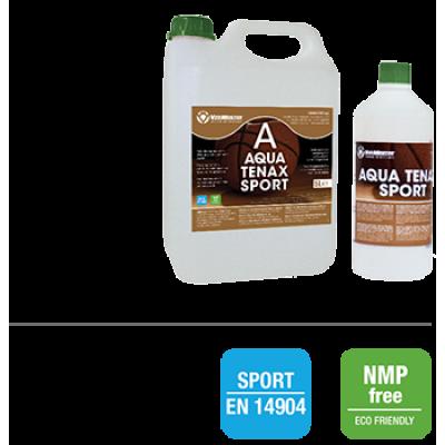 AQUA TENAX SPORT Двухкомпонентный грунт на водной основе для спортивных деревянных полов 6 кг