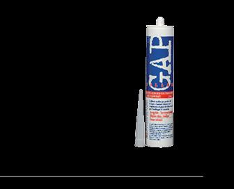 GAP FILLER WHITE OAK (дуб) Цветной акриловый герметик 0,31 кг