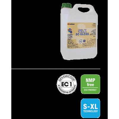 SILK 1K SAT60 gloss Однокомпонентный лак на водной основе для деревянных полов 5 кг