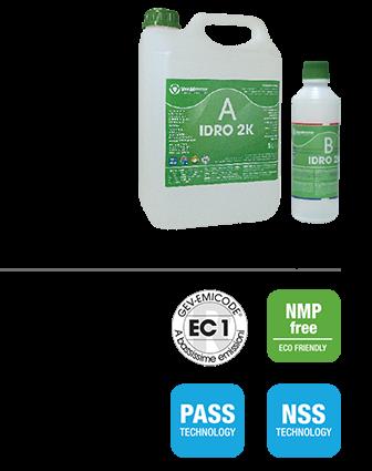 IDRO 2K EXPORT30 glossА+В Двухкомпонентный лак на водной основе для деревянных полов 5,5 кг