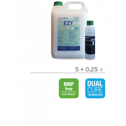 EZY X-MATT 10 gloss А+В Двухкомпонентный лак на водной основе для деревянных полов 5,25 кг
